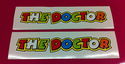 THE DOCTOR Valentino Rossi stickers  200mm x 36mm x2