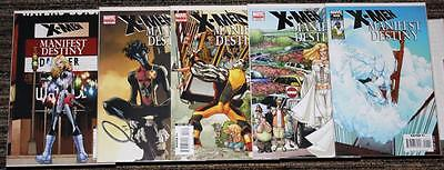 Marvel X-Men: Manifest Destiny # 1-5 COMPLETE SET
