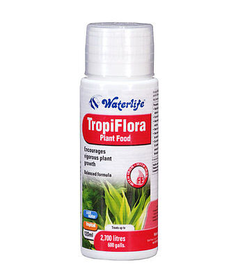 Waterlife Tropiflora 60Ml 100Ml 250Ml  Aquarium Liquid Plant Fertiliser Fish