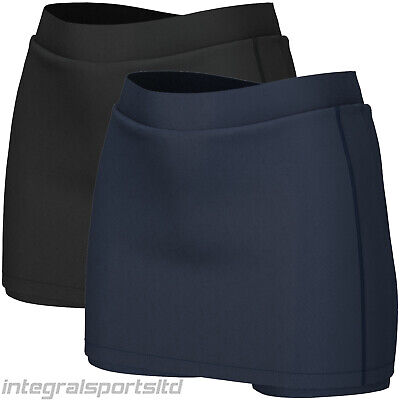 i-sports Pro Skort Girls Ladies Skirts For Running School PE Hockey Golf Netball
