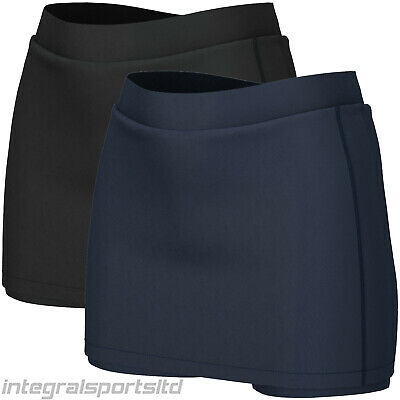 i-sports Pro Skort Girls Ladies Womens Skirts For Running School PE Hockey Golf