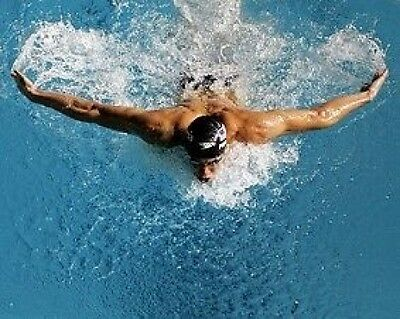 Michael Phelps Swimming Legend Butterfly 10x8 Photo