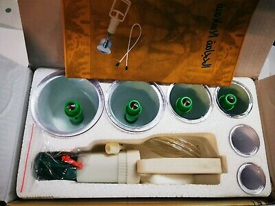 6 Cups& Pump Vacuum Cupping Set Acupuncture Therapy Apparatus Suction Hijama