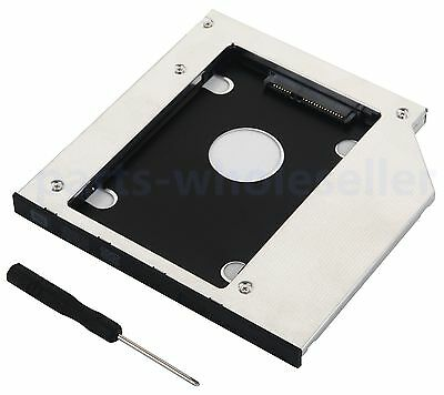 2nd SSD HDD Hard Drive Caddy for Dell Inspiron 15 3521 3537 5558 5559 5565 5566