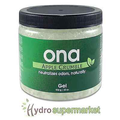 Ona Gel Apple Crumble - Odour Neutralising Agent 1L Tub/Jar Removes Smells