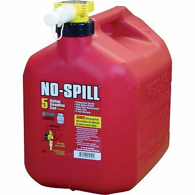 One-Button No-Spill 5-Gallon Gas Can