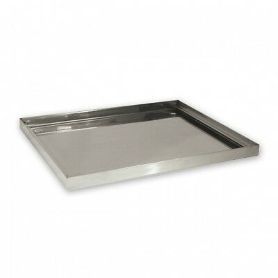 Glass Basket / Glass Washing Drip Tray, Stainless Steel, 440 x 360 x 25mm