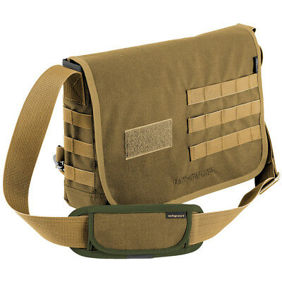 Wisport Army Shoulder Bag Pathfinder Cordura Molle Combat Messenger Coyote Tan