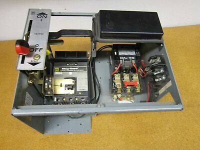 Square D Breaker Type Combination Starter FAP3600311M With 8536 SC03