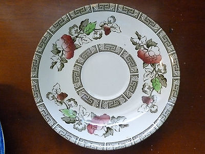 Ridgway Indian Tree Staffordshire Saucer 5 1/2 ""