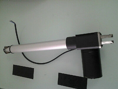 8 inch stroke linear actuator max 1320LBS(6000N) 12/24V DC max 30mm/s