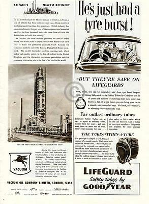 1954 Vacuum Oil Company AD Britain Essex Mobil Pegasus Catalytic Cracking Unit