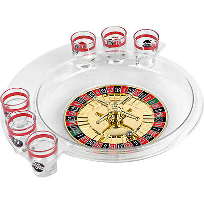 Roulette Drinking Game Set - Bar Liquor Shots Adult Party Casino Game - Fun Gift
