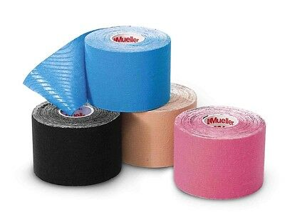 Mueller Sports 27367 Kinesiology Tape Muscles Pain Relief & Support - 4 Colours
