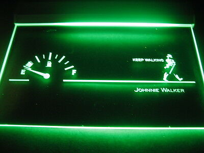 W0208 B Johnnie Walker Whiskey Bar LED Light Sign