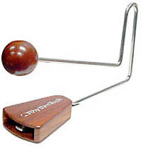 RHYTHM TECH - Chatterbox Vibraslap 11 Inch Long *NEW* Metal Handle, Wooden Ends