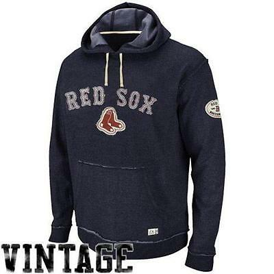 MLB Baseball Hoody Hoodie Kaputzenpullover BOSTON RED SOX Vintage Sweater