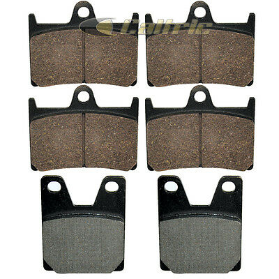 SINTERED FRONT /& REAR BRAKE PADS 3x Sets R1 /' 2004 2005 2006 for YAMAHA YZF