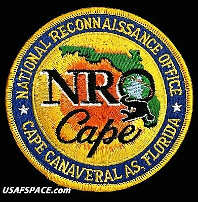 Nro Cape - National Reconnaissance Office - Ccas - Usaf Satellite Space Patch