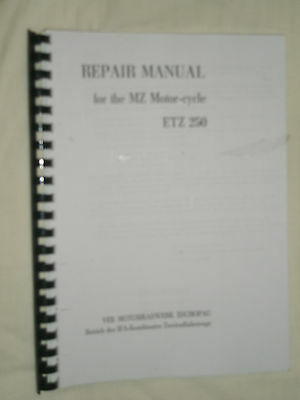 Mz Etz 250 Workshop Manual