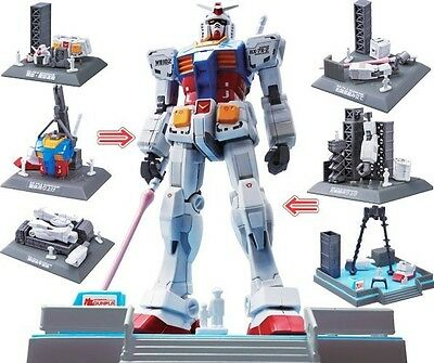 Bandai RX-78-2 Mobile Suit Figure Gundam Limited Ver.G30th Project Model Kits