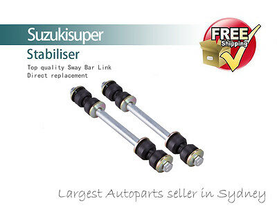 2 Front Sway Bar Link Kit Bushes Ford Explorer 4 DOOR Stabiliser 2002-2005