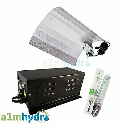 Gearbox Pro600 600W Watt Metal Vented Ballast Grow Light Kit Hydroponics