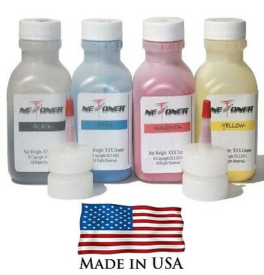 4 Color Toner Refill Kit for Samsung CLP365, CLP-365W, CLX-3305FW, CLT406S, 365