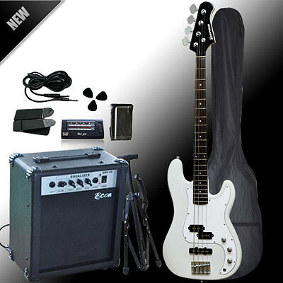 New Quality Bass Guitar WH