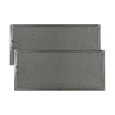 GE GREASE MICROWAVE OVEN FILTER Part # WB06X10596 (2 PACK) Stock 82-M