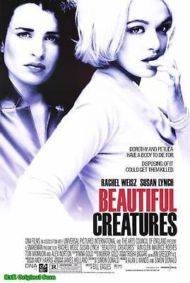 """MOVIE POSTER~Beautiful Creatures 2000 Double Sided D/S 27x40"""" Original One Sheet"""