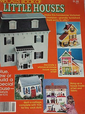 Vintage 1979 McCall's Book of Little Houses - Volume 1 (One) Dollhouses