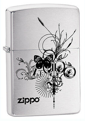 Zippo Lighter Zippo Butterfly Personalised Engraved Free
