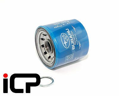 Genuine Blue Oil Filter & Sump Washer Fits Impreza WRX STi 22B Turbo 15208AA12A