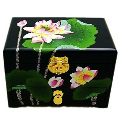 Yao's old fashioned Chinese jewelry box
