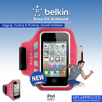 Belkin Ease Fit Armband for iPod Touch with Sweat protection , jogging, cycling