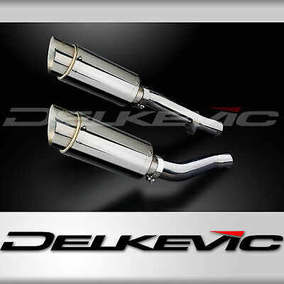 MINI 200mm ROUND STAINLESS STEEL EXHAUST SILENCER YAMAHA XJR1300 XJR1300SP 98-07