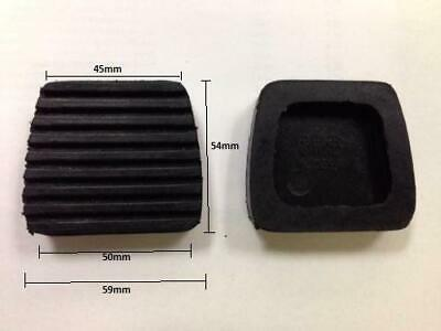 Replacement New Foot Brake + Clutch Pedal Covers Pad Rubbers For Citroen C3