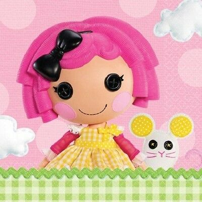 Lalaloopsy~ (16) Large Lunch/Dinner Napkins ~Birthday Party Supplies Tableware