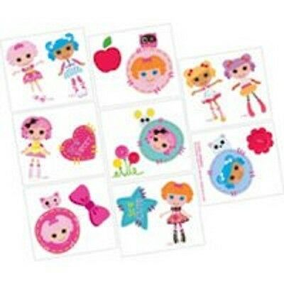 Lalaloopsy~ (16) Tattoos~Birthday Party Supplies Party Favors