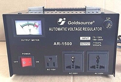 Transformador De Voltage De 220 A 110V  110 A 220V 1500W Estabilizador Corriente