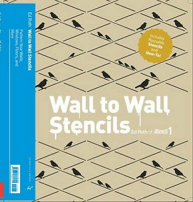 Stencil 101 Decor: Customize Walls, Floors, and Furniture with Oversized...