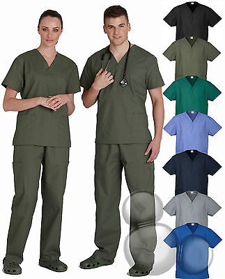 Scrubs Top Size  XS S M L XL 2XL 3XL 5XL Medical Beauty Health Shirt New!