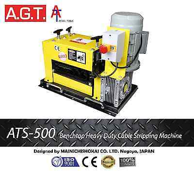 ATS–500 HeavyDuty Scrap Cable Wire Stripper/Stripping Machine, Copper Recycling