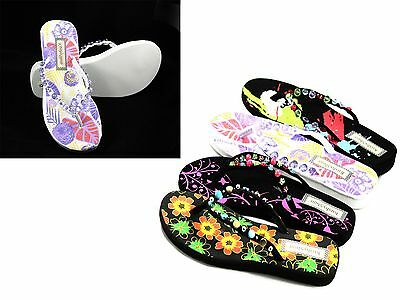 4 Colors New Y-Strap Summer Beach Casual Slip On Sandals Flats Women's Shoes
