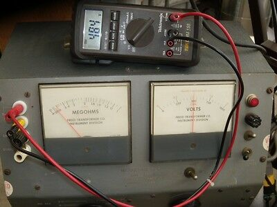 "Megohmmeter 1620A  ( same as Genrad 1863, 1864)"" Working & Calibrated""."