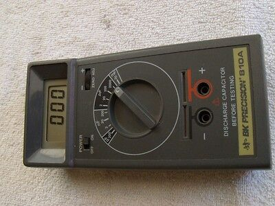 "BK Precision 810A Capacitance Meter "" Working & Calibrated""."