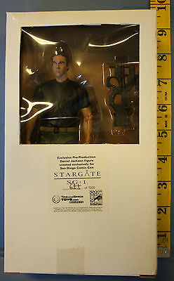 Stargate SG-1 Dr. Daniel Jackson Figure Comic Con Exclusive Free Shipping New