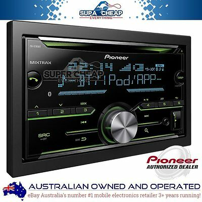 Pioneer Fh-X785Bt Double Din Bluetooth Bt Cd Mp3 Ipod Car Stereo Fhx785Bt