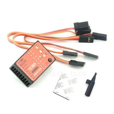 NEW 3 Axis Gyro Flybarless System TGZ380 For Align T-REX 450 550 600 700 RC Heli